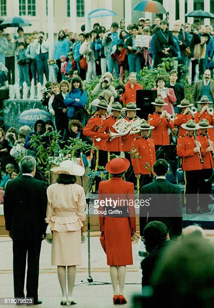 Royal Visits Prince Charles and Princess Diana British Columbia