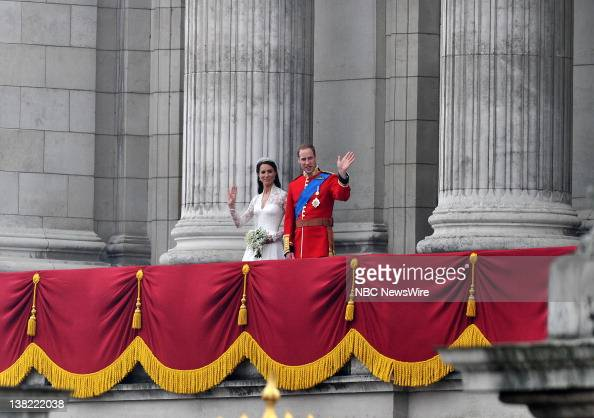 TODAY 'Royal Wedding' Pictured Catherine Duchess of Cambridge and Prince William during the Royal Wedding of Prince William and Catherine Middleton...