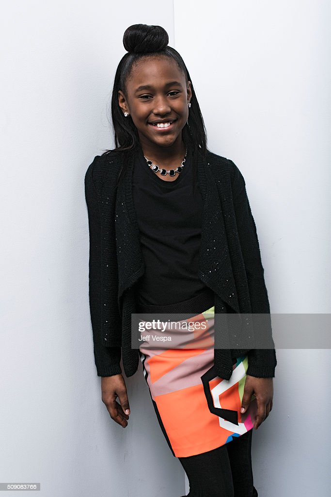 Royalty Hightower of 'The Fits' poses for a portrait at the 2016 Sundance Film Festival on January 24, 2016 in Park City, Utah.