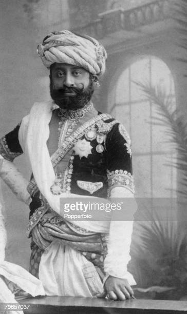 Royalty India Circa 1900's An Indian Maharajah