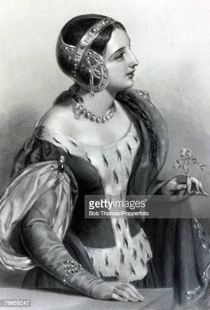 Royalty Queens and Consorts of England Illustration Isabella of France the daughter of King Philip II of France she married King Edward II of England...