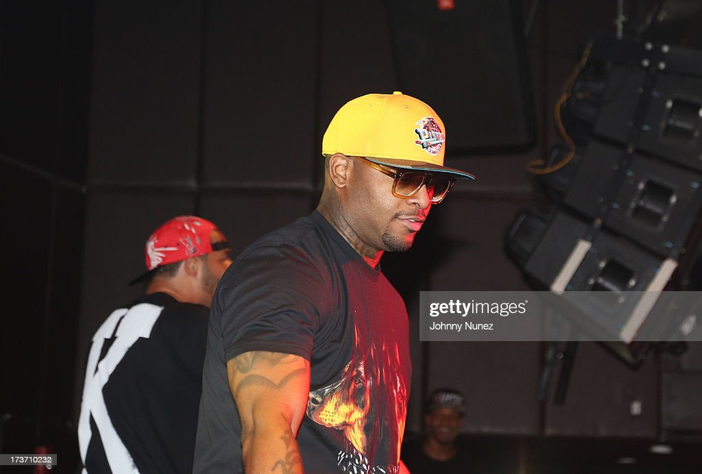 Royce da 5'9' of Slaughterhouse performs at Highline Ballroom on July 16, 2013 in New York City.