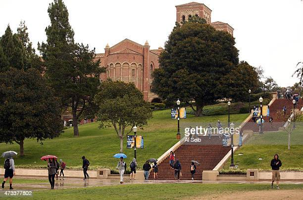 Royce Hall at the UCLA campus on May 14 2015 as California students at the University of California are getting a twoyear reprieve from threatened...