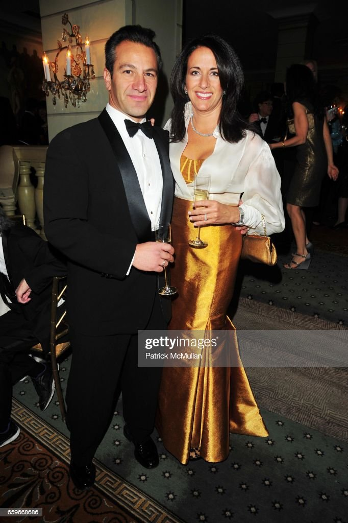 Roys Poyiadjis and Donna Poyiadjis attend WOMEN'S PROJECT Gala at Pierre Hotel on March 2, 2009 in New York.