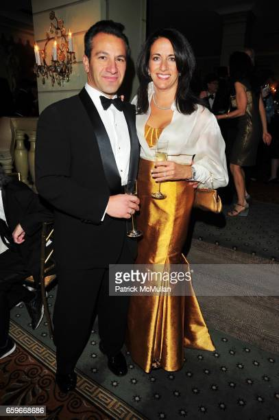 Roys Poyiadjis and Donna Poyiadjis attend WOMEN'S PROJECT Gala at Pierre Hotel on March 2 2009 in New York