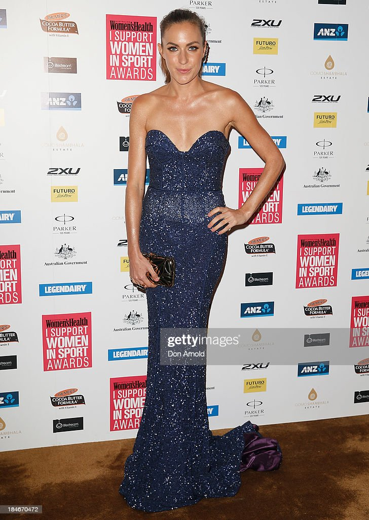 Roz Kelly arrives at the 'I Support Women In Sport' awards at The Ivy Ballroom on October 15, 2013 in Sydney, Australia.