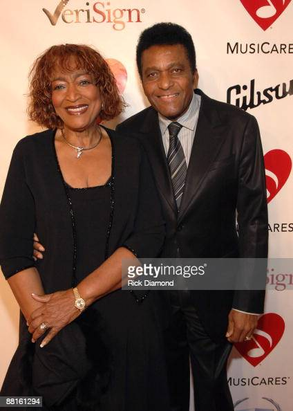 Rozene Pride and Charley Pride
