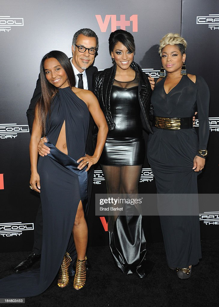 Rozonda Thomas, Charles Stones lll, Drew Sidora, and Tionne Watkins attend CrazySexyCool Premiere Event at AMC Loews Lincoln Square 13 theater on October 15, 2013 in New York City.