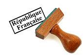 tampon encreur république française