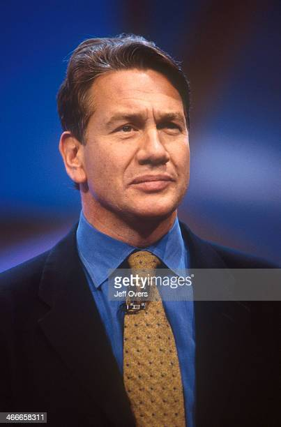 Rt Hon Michael Portillo speaking at the Conservative Party conference 2000 Shadow Chancellor of the Exchequer giving a speech at the annual...