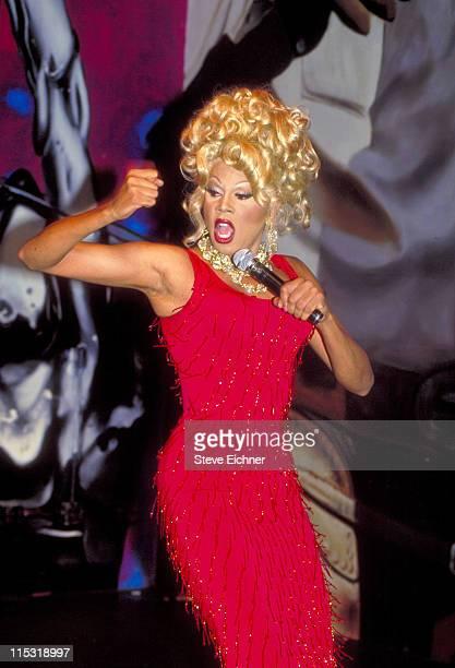 Ru Paul during Ru Paul at Club USA 1993 at Club USA in New York City New York United States