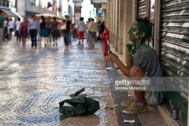 CONTENT] Rua Augusta is the main street / pedestrian street in Lisbon Downtown called Baixa