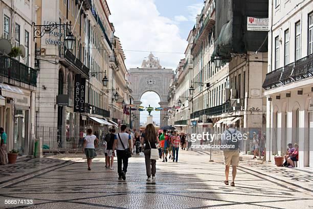 Rua Augusta. Lisbon. Portugal