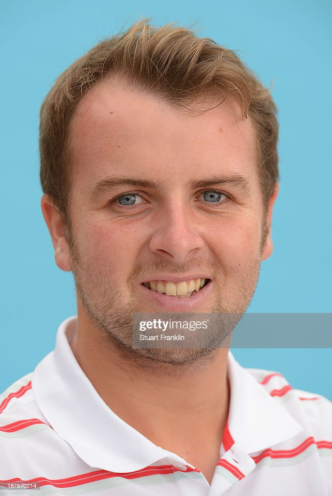 Ruaidhri McGee of Ireland poses for a photograph during the first round of European Tour qualifying school final stage at PGA Catalunya Resort on November 10, 2013 in Girona, Spain.