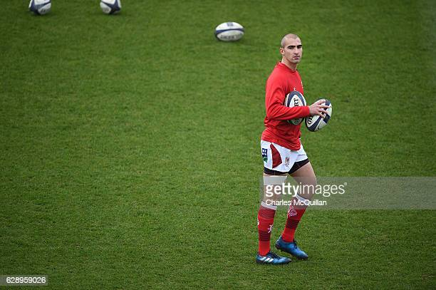 Ruan Pienaar of Ulster before the European Champions Cup game between Ulster and ASM Clermont Auvergne on December 10 2016 in Belfast United Kingdom