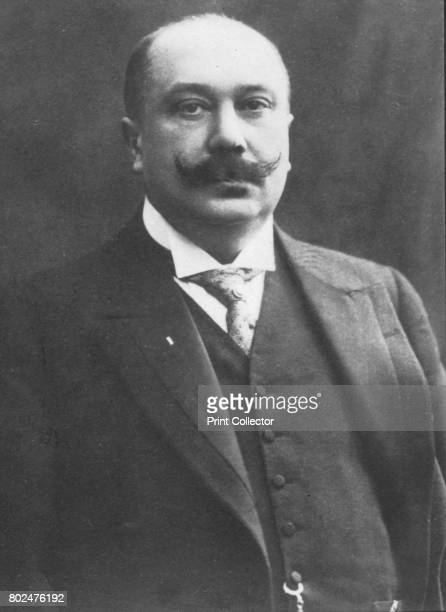 Ruau' c1893 Joseph Ruau French lawyer and radical politician From the 2e collection [Felix Potin c1893] Artist Unknown