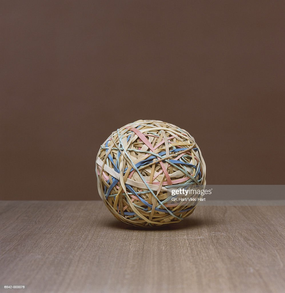 how to make a rubber ball with rubber bands