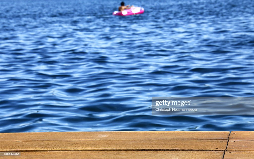 Rubber boat : Stock Photo