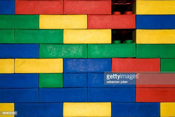 rubber brick wall XL