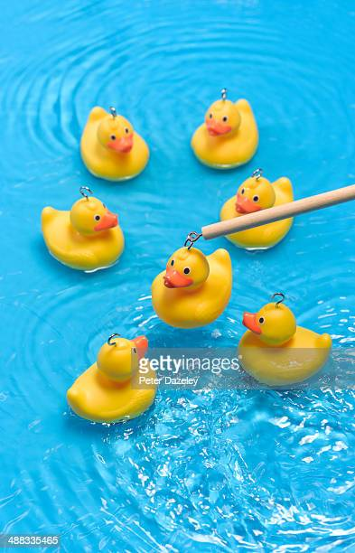 Rubber duck carnival game
