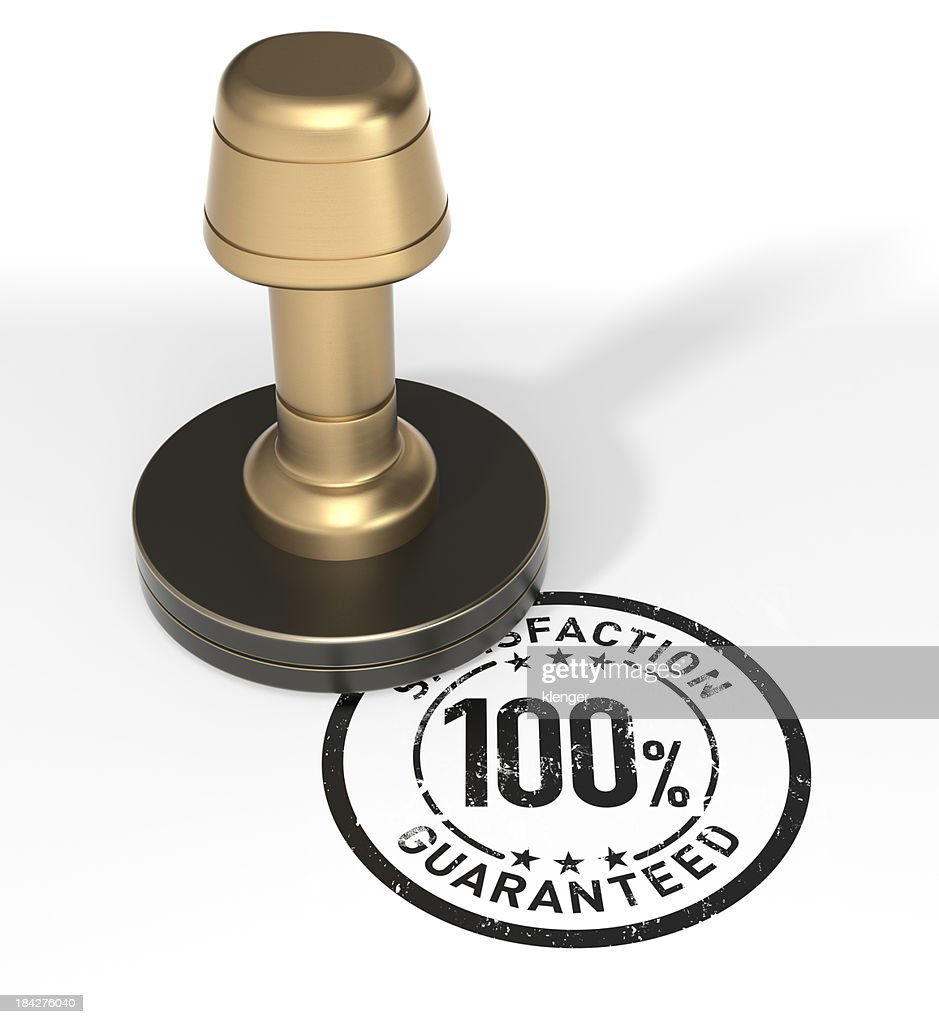 "Rubber stamp ""Guarantee"""