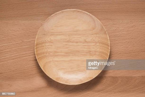 Rubber Tree Wood Plate