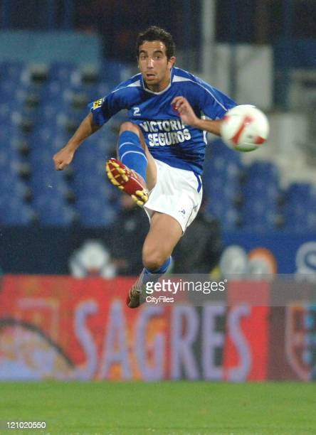 Ruben Amorim during the Portuguese Cup SemiFinal match between Belenenses and Braga on April 19 2007
