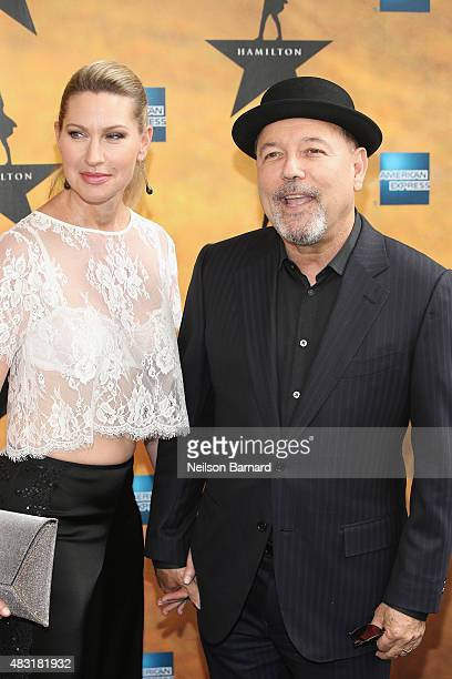 Ruben Blades attends 'Hamilton' Broadway Opening Night at Richard Rodgers Theatre on August 6 2015 in New York City
