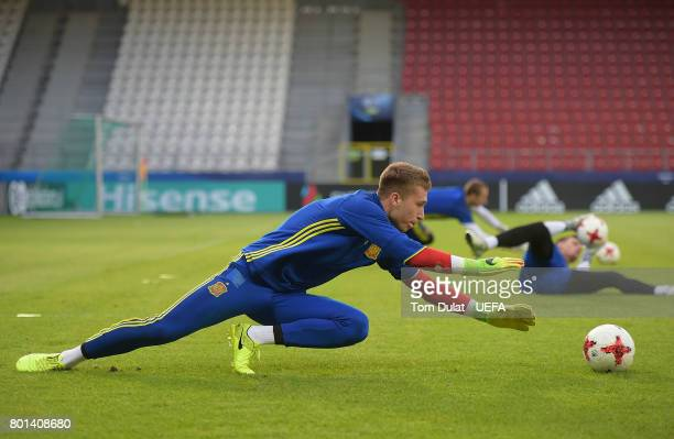 Ruben Blanco Veiga of Spain during a training session on June 26 2017 in Krakow Poland