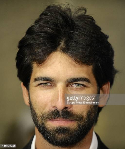 Ruben Cortada attends 'Olmos y Robles' premiere during FesTVal 2015 on September 3 2015 in VitoriaGasteiz Spain