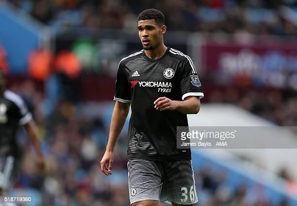 Ruben LoftusCheek of Chelsea during the Barclays Premier League match between Aston Villa and Chelsea at Villa Park on April 2 2016 in Birmingham...