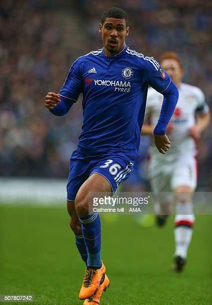 Ruben LoftusCheek of Chelsea during the Emirates FA Cup match between MK Dons and Chelsea at Stadium mk on January 31 2016 in Milton Keynes England