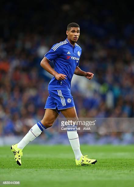 Ruben LoftusCheek of Chelsea during the preseason friendly between Chelsea and Fiorentina at Stamford Bridge on August 5 2015 in London England