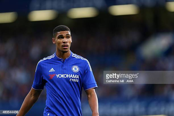 Ruben LoftusCheek of Chelsea during the preseason friendly between Chelsea and Fiorentina at Stamford Bridge on August 5 2015 in London England