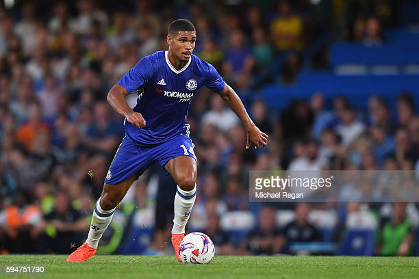 Ruben LoftusCheek of Chelsea in action during the EFL Cup second round match between Chelsea and Bristol Rovers at Stamford Bridge on August 23 2016...