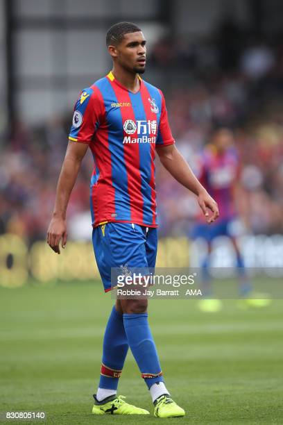 Ruben LoftusCheek of Crystal Palace during the Premier League match between Crystal Palace and Huddersfield Town at Selhurst Park on August 12 2017...
