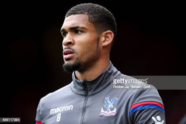 Ruben LoftusCheek of Crystal Palace during the Premier League match between Liverpool and Crystal Palace at Anfield on August 19 2017 in Liverpool...