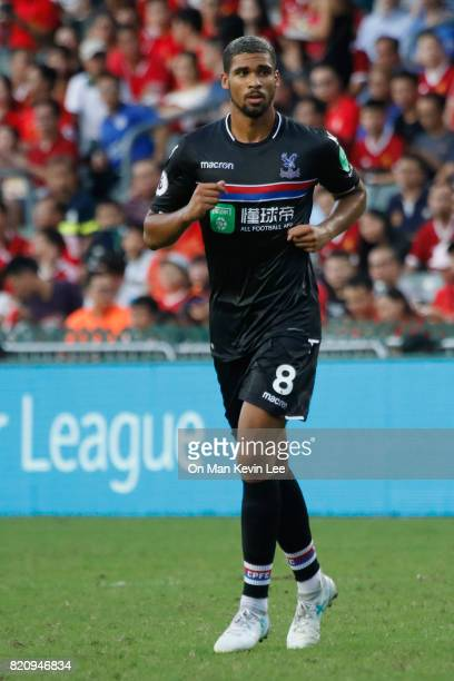 Ruben LoftusCheek of Crystal Palace FC in action during the Premier League Asia Trophy match between West Bromwich Albion FC and Crystal Palace FC on...
