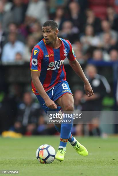 Ruben LoftusCheek of Crystal Palace in action during the Premier League match between Crystal Palace and Huddersfield Town at Selhurst Park on August...