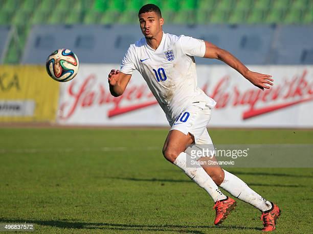 Ruben LoftusCheek of England in action during the European Under 21 Qualifier match between Bosnia and Herzegovina U21 and England U21at Stadium Asim...