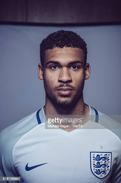 FILTERS Ruben LoftusCheek of the England U21 squad poses at St Georges Park on March 24 2016 in BurtonuponTrent England