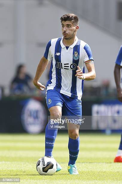 Ruben Neves of FC Porto during the GelreDome tournament match between Vitesse Arnhem and FC Porto on July 23 2016 at the Gelredome stadium in Arnhem...