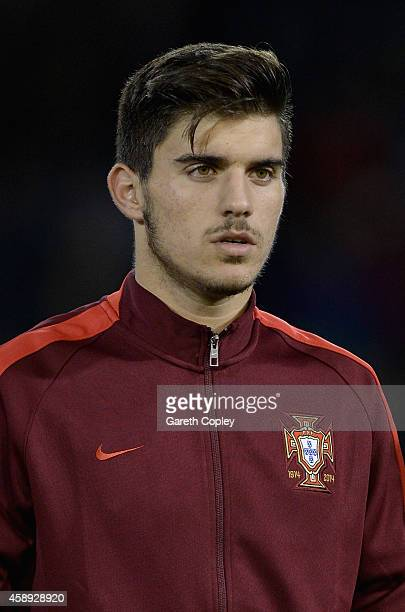 Ruben Neves of Portugal during the U21 International Friendly match between England and Portugal at Turf Moor on November 13 2014 in Burnley England