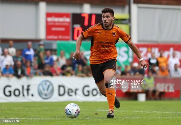 Ruben Neves of Wolverhampton Wanderers during the preseason friendly between Werder Bremen and Wolverhampton Wanderers at Parkstadion Zell Am Ziller...