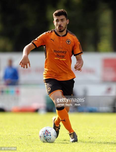 Ruben Neves of Wolverhampton Wanderers during the preseason friendly between FC Viktoria Plzen and Wolverhampton Wanderers on July 15 2017 in...