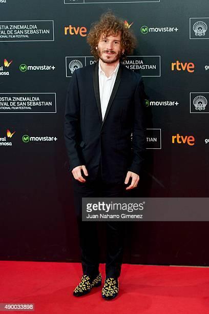 Ruben Ochandiano arrives at the Donostia Award Gala 2015 during 63rd San Sebastian Film Festival at Kursaal San Sebastian on September 25 2015 in San...
