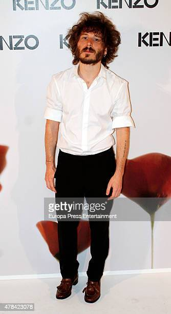 Ruben Ochandiano attends Kenzo Summer Party to celebrate the 15th anniversary of Flower By Kenzo fragance on June 24 2015 in Madrid Spain
