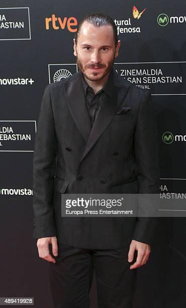 Ruben Ochandiano attends 'Mi Gran Noche' premiere during 63rd San Sebastian Film Festival on September 20 2015 in San Sebastian Spain
