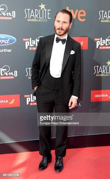 Ruben Ochandiano attends Platino Awards Gala on July 18 2015 in Marbella Spain