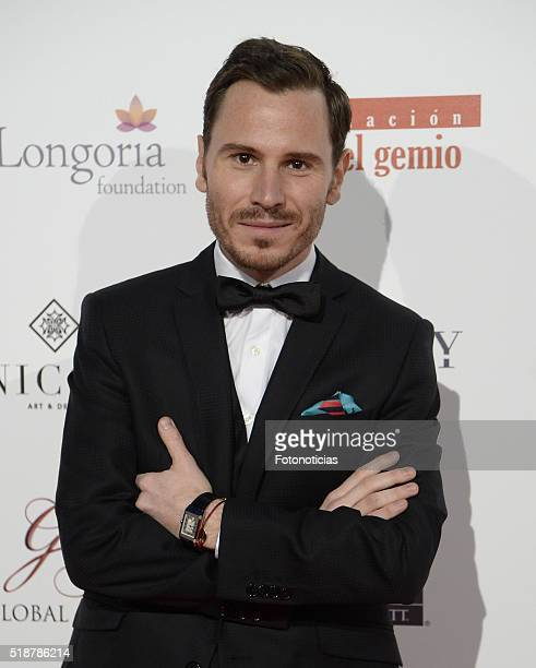 Ruben Ochandiano attends the Global Gift Gala at the Palacio de Cibeles on April 2 2016 in Madrid Spain